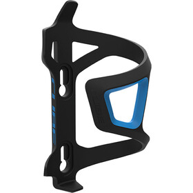 Cube HPP Left-Hand Sidecage Flaskeholder, black/blue